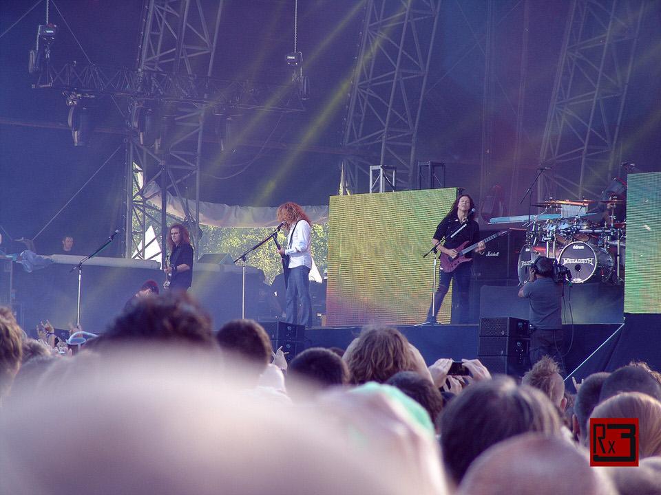 Megadeth - Sonisphére 2013