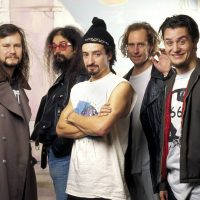UNSPECIFIED - JANUARY 01:  Photo of FAITH NO MORE; L-R Bill Gould, Jim Martin, Mike Bordin, Roddy Bottum, Mike Patten  (Photo by Mick Hutson/Redferns)