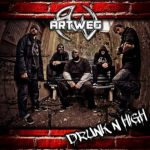 ARTWEG Drunk'N'High Pochette Album Hardcore