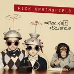 RICH SPINGFIELD Rocket Science Pochette Album Rock