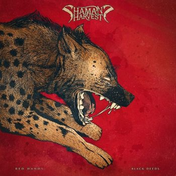 SHAMAN HARVEST Red Black Cover
