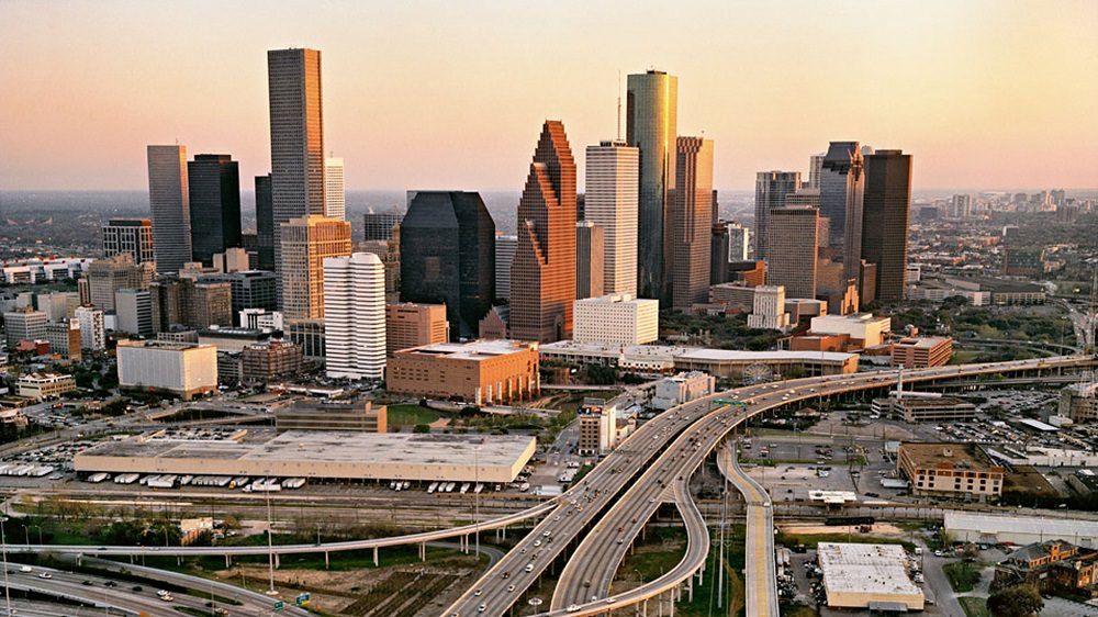Houston Texas Downton
